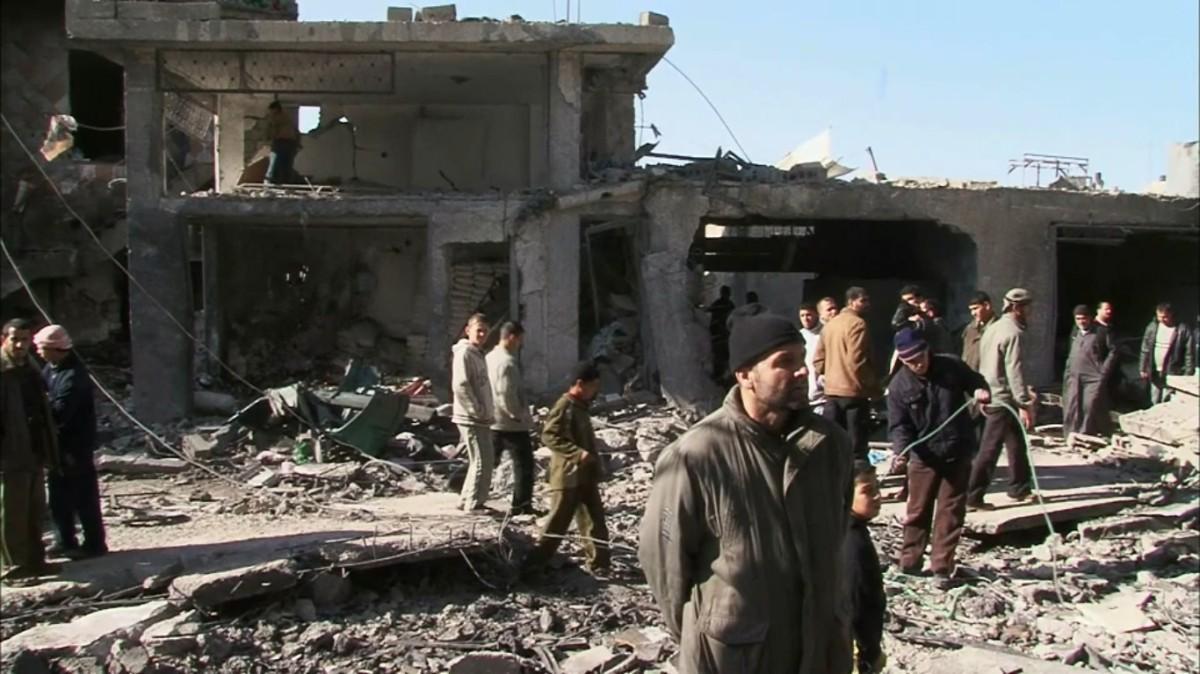 P COMME PALESTINE – Gazabombardée.