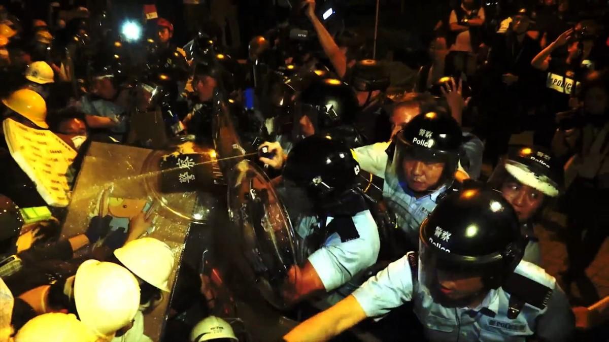 H COMME HONG KONG –Manifestations.