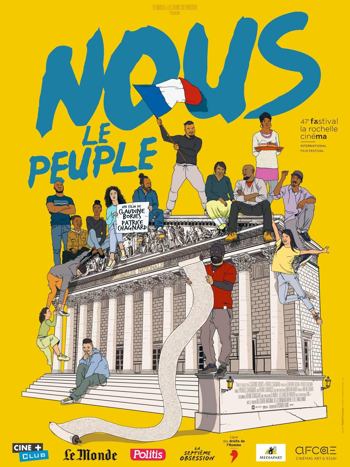 I COMME ITINÉRAIRE D'UN FILM – NOUS LE PEUPLE de Claudine Bories et PatriceChagnard.