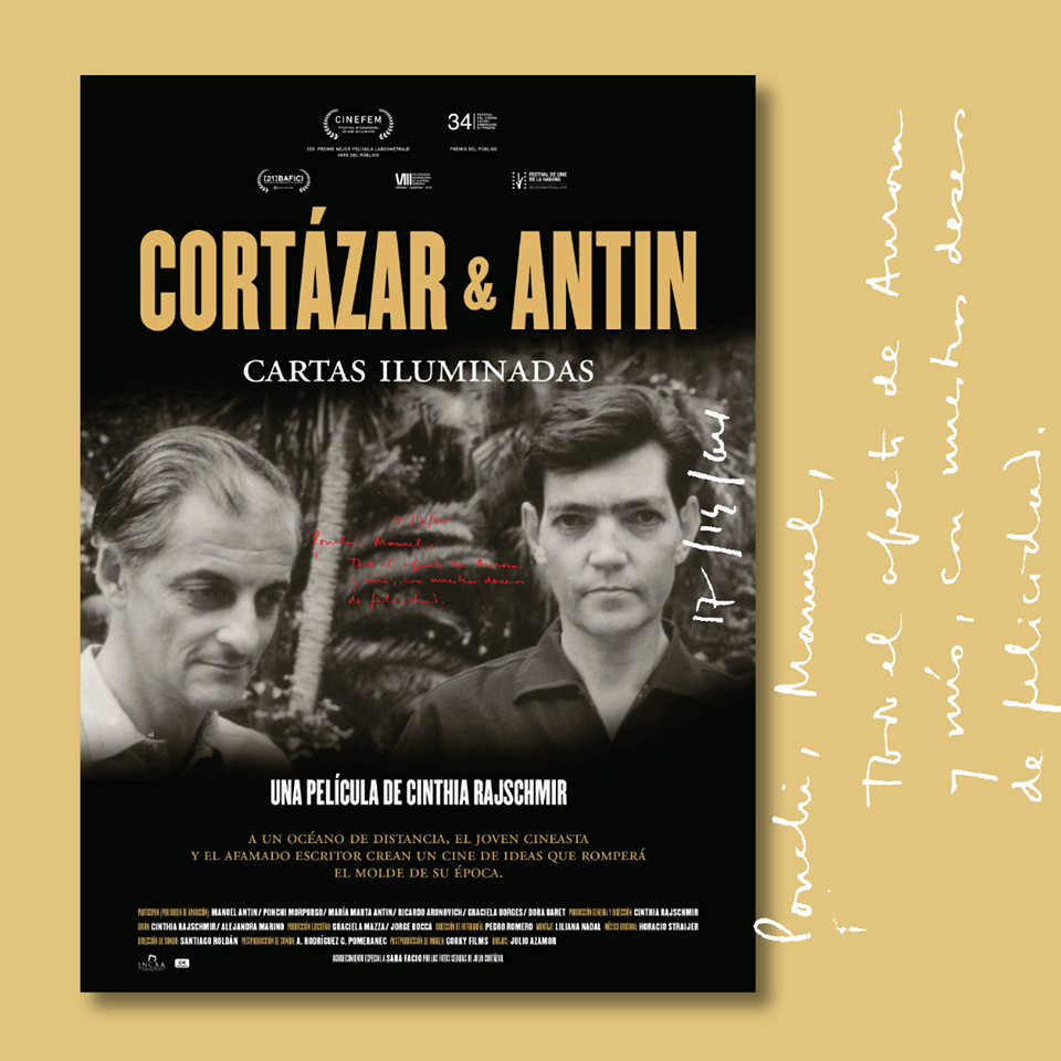 I COMME ITINÉRAIRE D'UN FILM – Cortázar & Antin: Cartas Iluminadas de CinthiaRajschmir